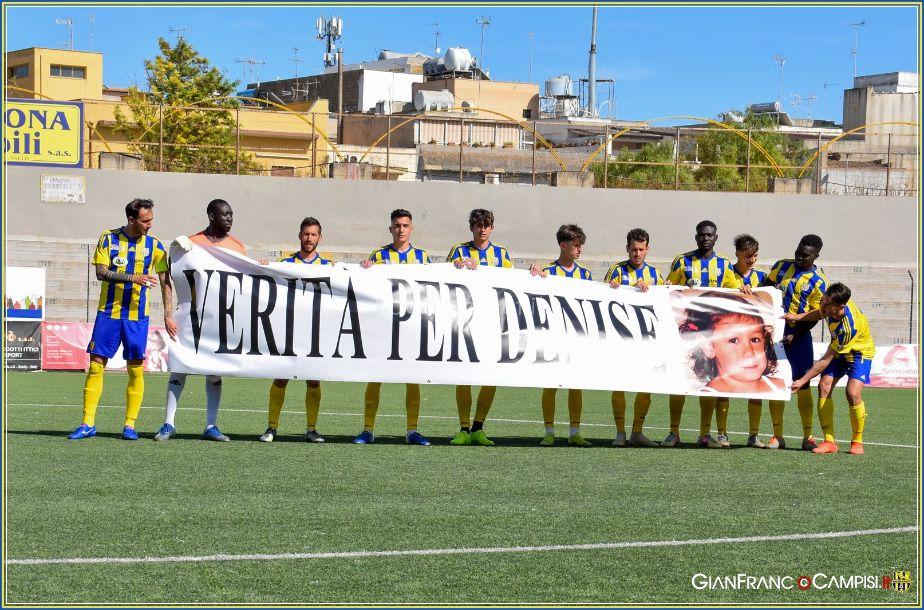 Nel derby con il Marsala il Mazara vince 3-0. Giocatori in campo per DENISE. Il Tabellino e le interviste