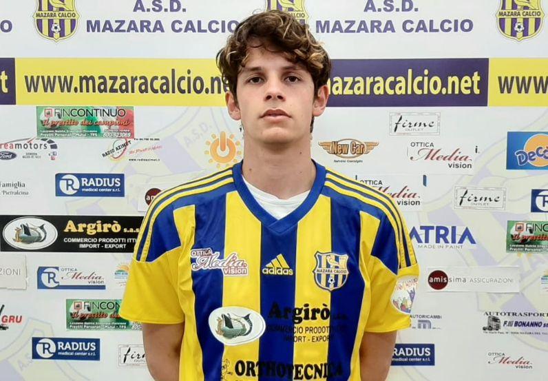 Mazara calcio: Il difensore Culcasi in maglia gialloblù