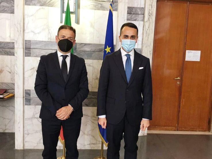 MISSIONE A ROMA, IL SINDACO QUINCI INCONTRA IL MINISTRO LUIGI DI MAIO