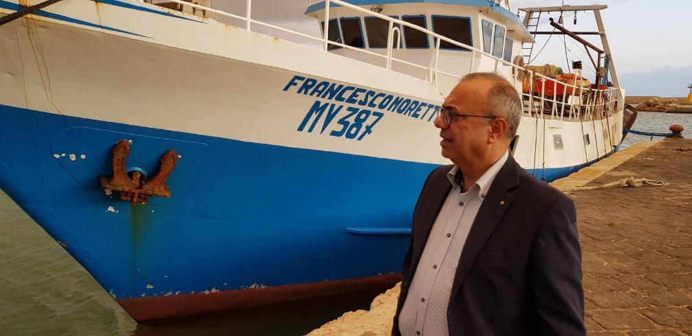 Il Distretto della Pesca e Crescita Blu a fianco dei pescatori siciliani