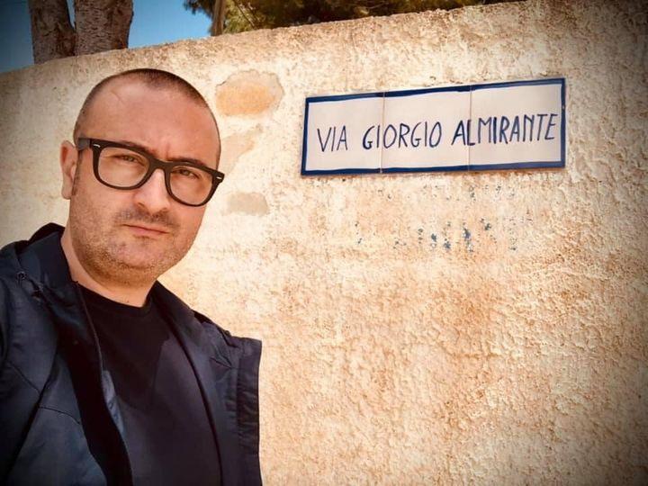 Mazara. Giampaolo Caruso (Fratelli d'Italia): Cambio nome strada intitolala ad Almirante? Ridicolo!!!