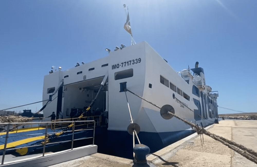 La tratta Mazara - Pantelleria, avviata a titolo sperimentale, rimarrà sospesa per una decina di giorni