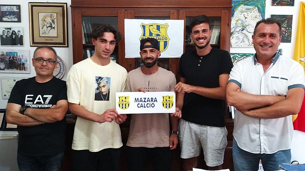 Mazara calcio: In gialloblù firmano SAMI ELAMRAOUI, MIRKO DE MIERE E GIULIO GIORDANO