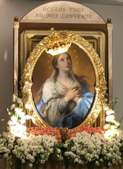 Mazara, la Madonna del Paradiso da stasera, e fino a venerdì, sosterà in ospedale