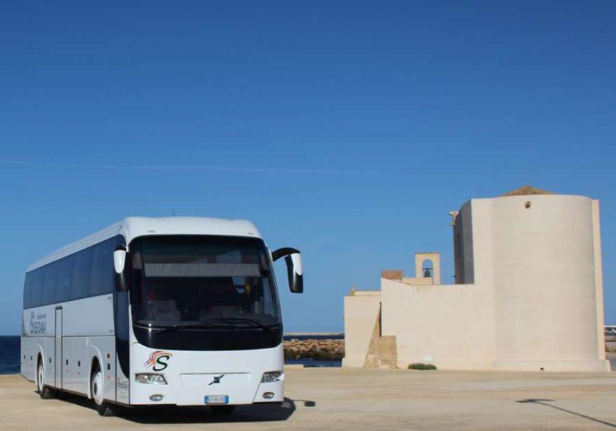 Mazara. Servizio bus sostitutivo al posto del trenino gommato