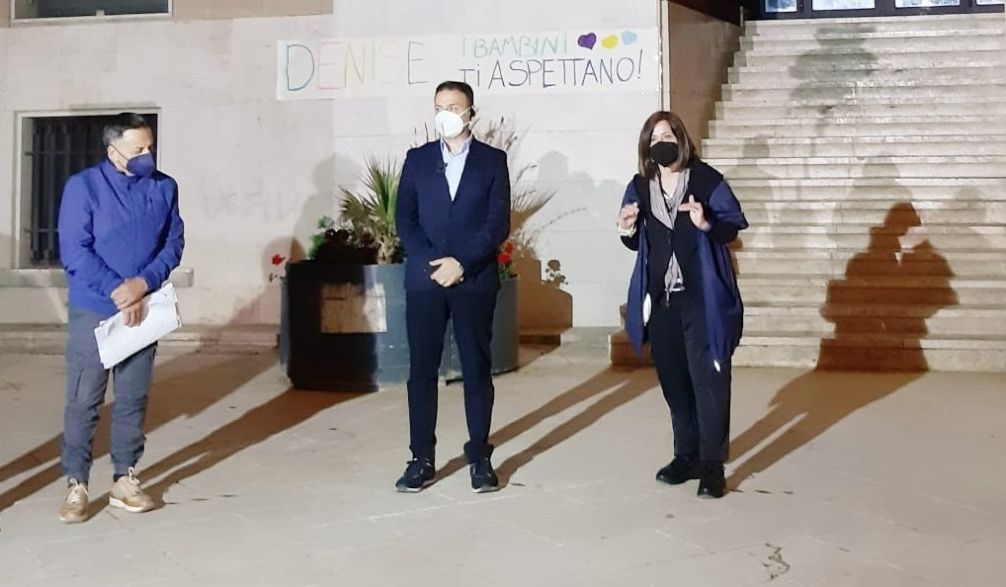 Mazara. Piera Maggio, Piero Pulizzi e l'avvocato Frazzitta incontrano il sindaco Quinci nel giorno del 17° anniversario del rapimento di Denise