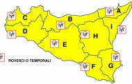 Maltempo e allerta gialla in Sicilia, in arrivo temporali sull'isola