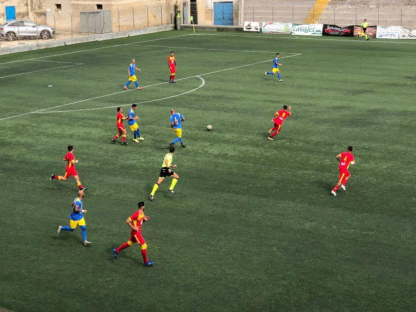 MAZARESE - MAZARA 1-0 . I giallorossi si impongono di misura con un gol di Testa