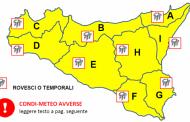 Torna il maltempo in Sicilia, allerta gialla su tutta l'isola