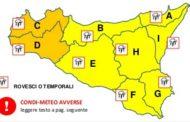 Regione Siciliana - Dipartimento Regionale della Protezione Civile: Maltempo in Sicilia. Allerta arancione in provincia di Trapani