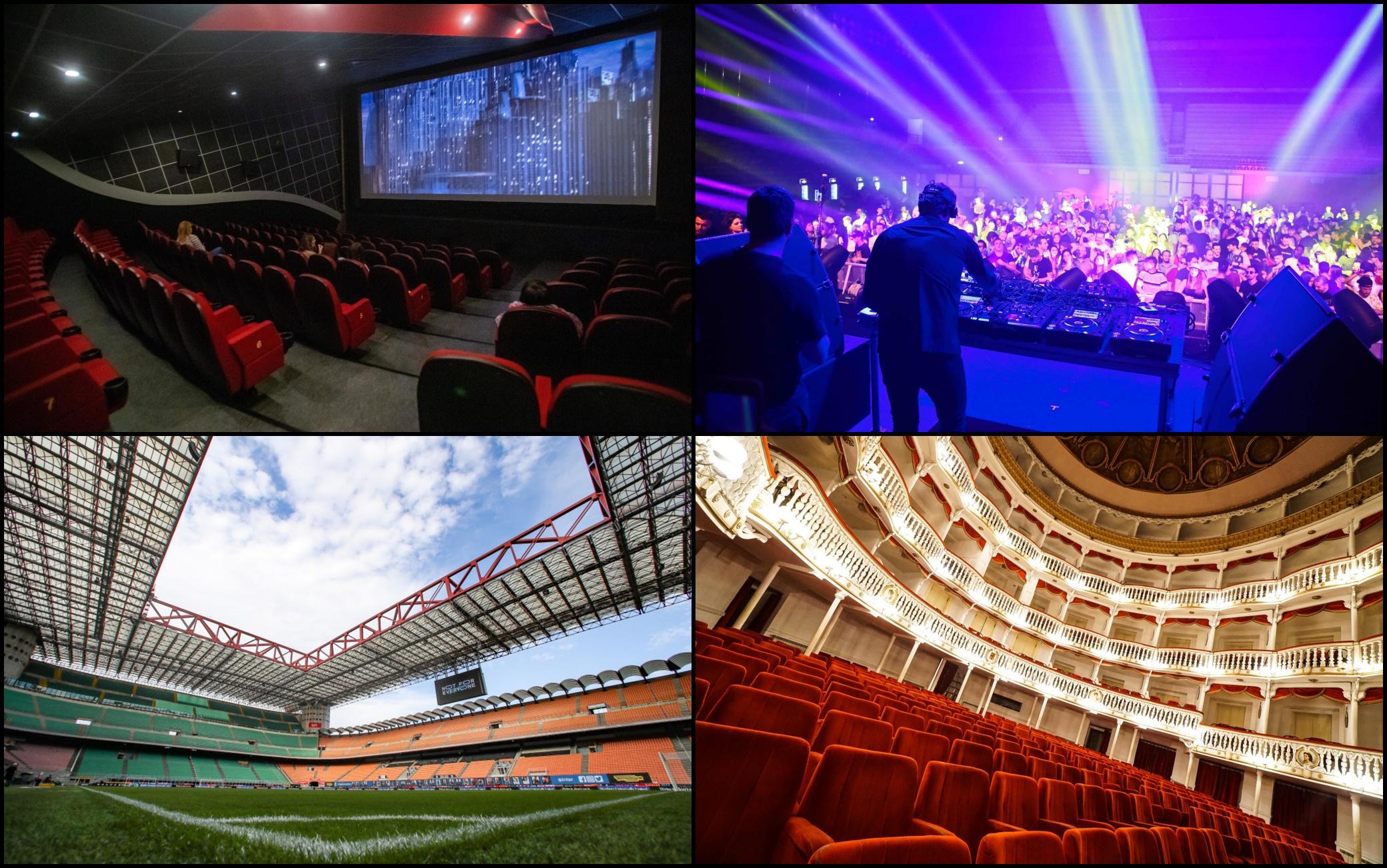 Teatri, concerti, discoteche: ecco le regole per la riapertura. Il provvedimento pubblicato sulla Gazzetta Ufficiale: entra in vigore lunedì 11 ottobre. Green pass sempre obbligatorio